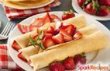 Sweet Amaretto Crepes