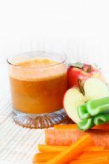 Fresh fruit/veg juicer juice
