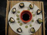 Sushi Maki - Philly Roll - no rice, homemade