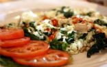 Tomato, Spinach and Feta Cheese Omelette