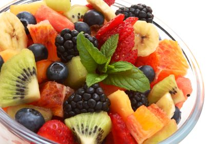 Summer Fresh Fruit Salad - Strawberry/Mango