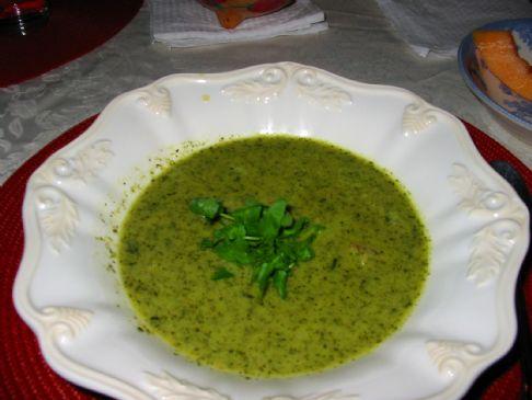 Paleo Watercress Soup