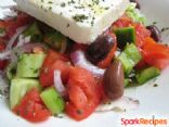 Greek Village Salad (horiatiki salata)