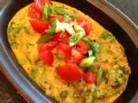 Quinoa Mac & Cheese with Tomato & Broccoli