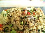 Quinoa vegitable medley