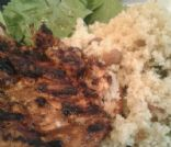 Lemon Grilled Chicken and Bulgur (clean eating)