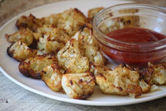 Baked Cauliflower Poppers
