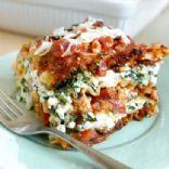 lowfat vegetable lasagna