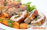 Spinach Stuffed Pork Tenderloin