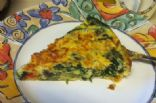 Frittata - Turkey Sausage, Spinach & Veggies