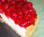 Classic Cherry Cheesecake