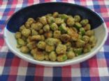 Cashew Nut and Sesame Seed Fried Okra