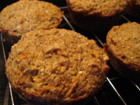 8 Grain Morning Glory Muffins