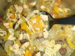 Bowtie Chicken Soup