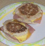 Ham, Egg, & Cheese English Muffin