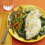 Balsamic White Wine Flounder