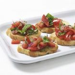 Simple Tomato Bruschetta