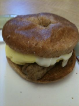 Bagel Breakfast Sandwich - Sausage