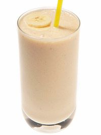 Cashew Butter & Banana Smoothie