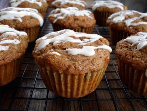 Carrot Cake Breakfast Muffins