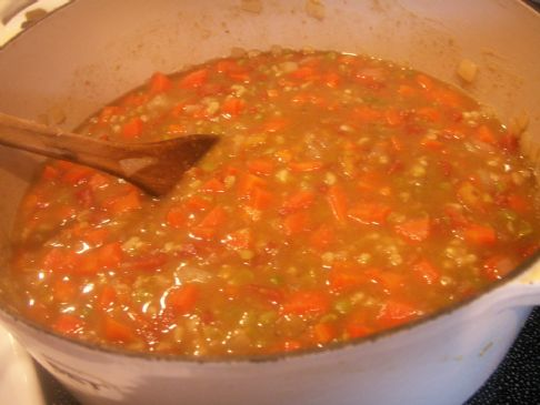 Persian Split Pea and Barley Stew