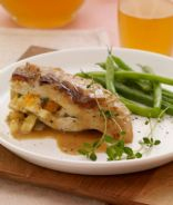 Apple-Stuffed Chicken