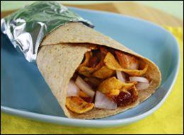 HG's Neat-O Chili-Frito Burrito