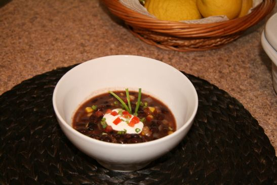 Easy Black Bean Chilli