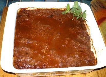 Kangaroo Baked in Spiced Chocolate Sauce