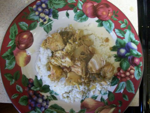 Slow-Simmered Curry Chicken