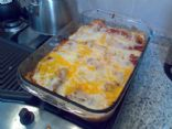 Home made Chicken Enchiladas