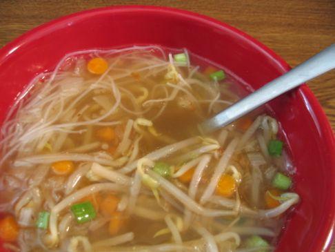 Thai Rice Noodle Soup