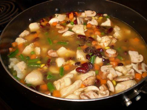 Chicken & Bean Soup