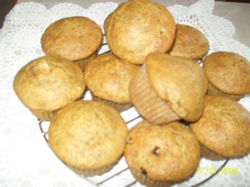 Bran Muffins the Frugal Way
