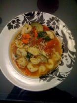 Garden Ravioli Soup