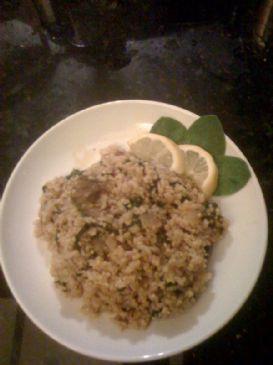 mushroom, millet & rice