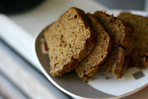Whole Wheat Honey Banana Bread