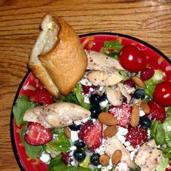 Super Spring Chicken Salad
