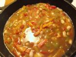 Skinny White Bean Chicken Chili