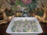 Holiday Broccoli Salad for a Crowd