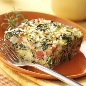 Spinach Brunch Bake