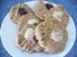 Crunchy Peanut Butter Oatmeal Cookies