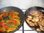 Fig BBQ Chicken Fajitas