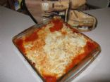 GF Lasagne with Eggplant