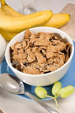 Fruity Bran Flake Breakfast
