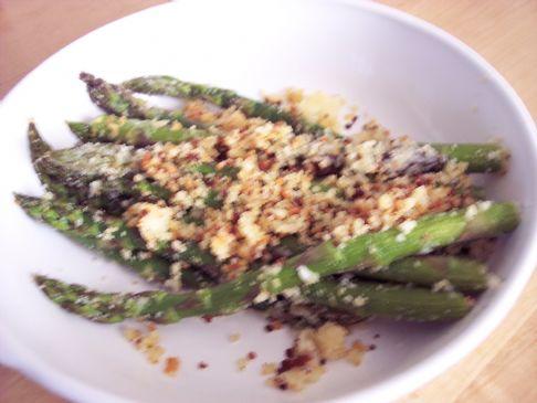 Parmesan Garlic Herb Asparagus