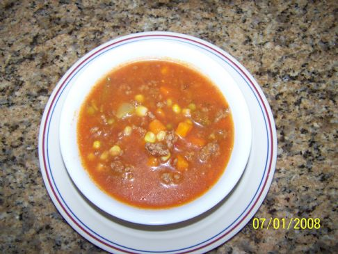 Easy Beef Vegetable Soup