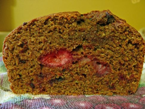 Whole Wheat Strawberry Bread