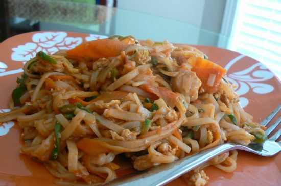 Chicken Pad Thai Recipe | SparkRecipes