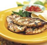 Grilled Chicken with Lemon Thyme